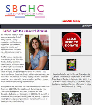 SBCHC Newsletter